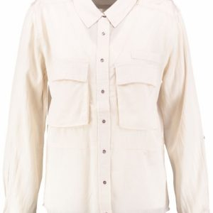 10 feet blouse natural viscose katoen XL creme