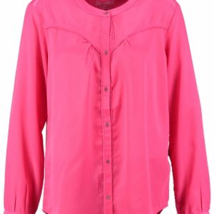 10 feet polyester blouse hot pink XL roze