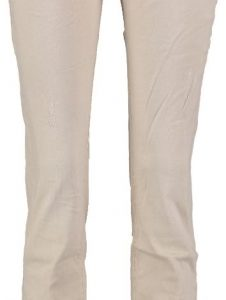 10 feet stretch skinny met destroyed plekken W31 beige
