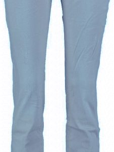 10 feet stretch skinny met destroyed plekken W31 blauw