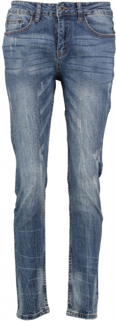 10 feet tapered fit jeans W25 blauw