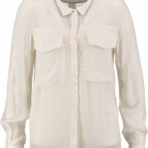 10 feet viscose shiny blouse off white XL creme
