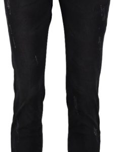 10 feet zwarte slim tapered jeans W28 zwart