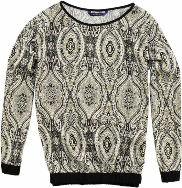 Anonyme polyester longsleeve S multicolor