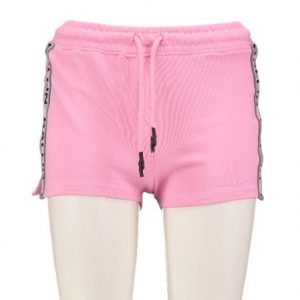 Ballin by pure white roze slim fit sweatshort XS roze