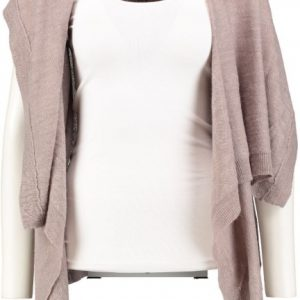 Broadway mouwloos vest light taupe XS/S beige
