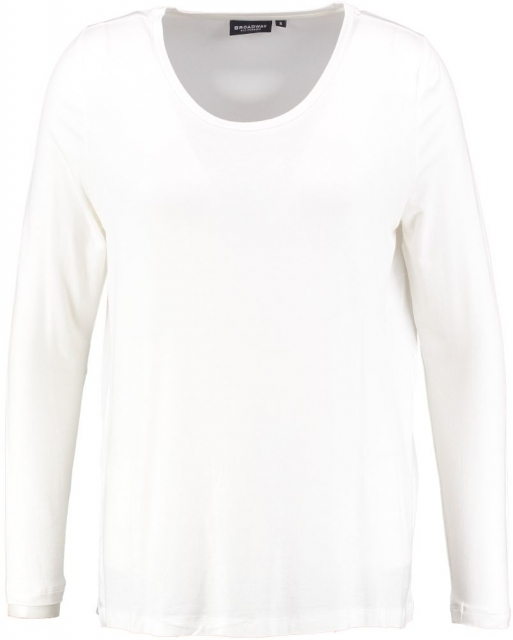 Broadway off white longsleeve met polyester achterzijde L creme