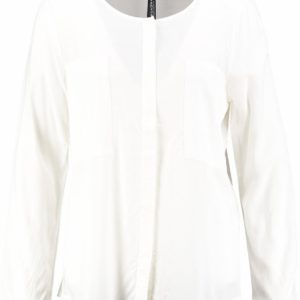 Broadway off white viscose blouse L wit