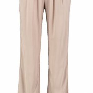 Broadway soepele loose fit broek taupe S beige