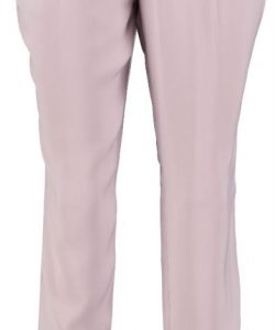 Broadway soepele loose tapered ankle pantalon S roze