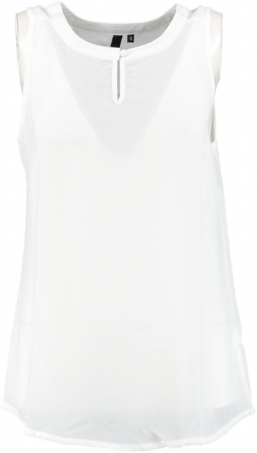 Broadway witte blouse top XS wit