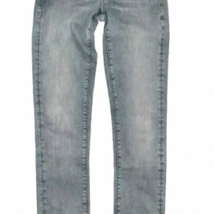 G-star midge mid straight grijze superstretch jeans W25-L30 grijs