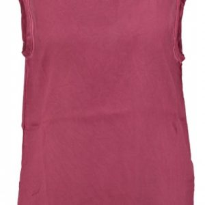 Object polyester top met kant 36 paars