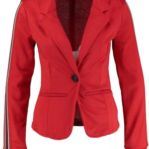 Only rode sweat blazer - valt 2 maten kleiner M rood