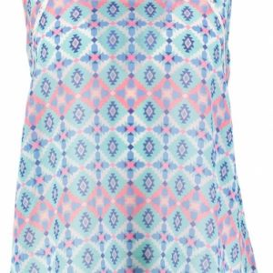 Pepe jeans polyester top met kant S multicolor
