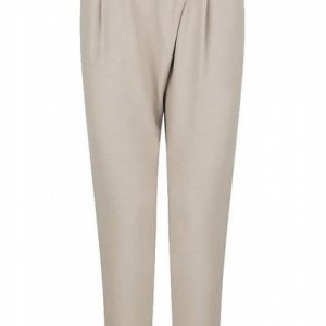 Supertrash pantalon met overslag effect 38 beige