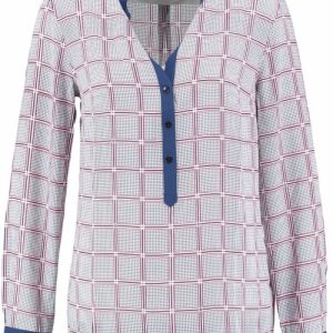 Tommy hilfiger polyester blouse 38 multicolor