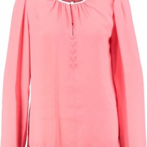 Tommy hilfiger polyester blouse sugar coral 38 roze