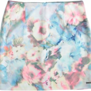 Vila joy stevige polyester stretch rok XXL multicolor